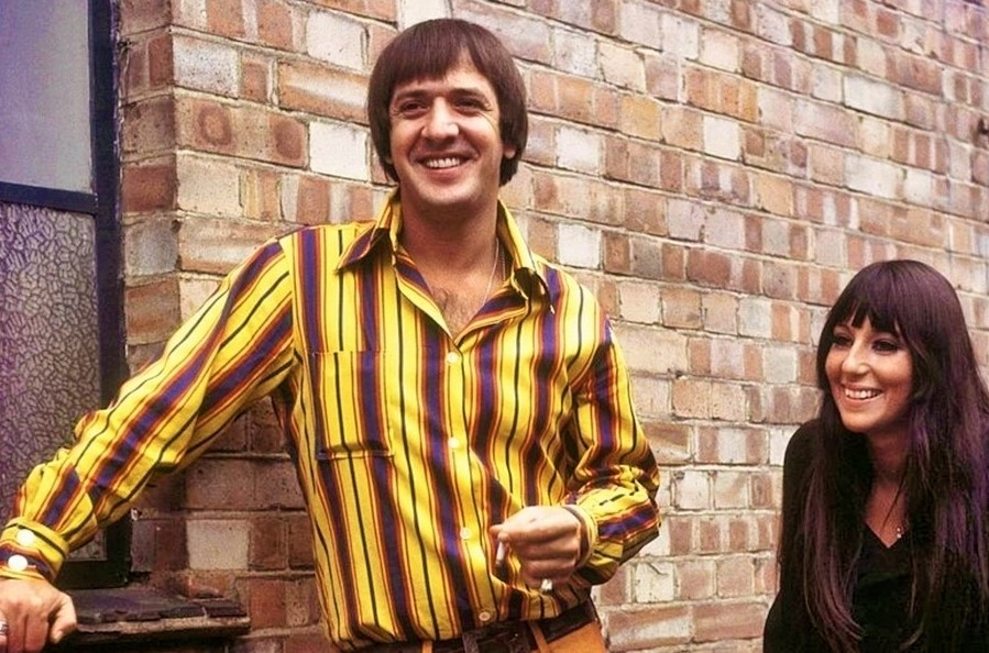 Sonny Bono with Cher