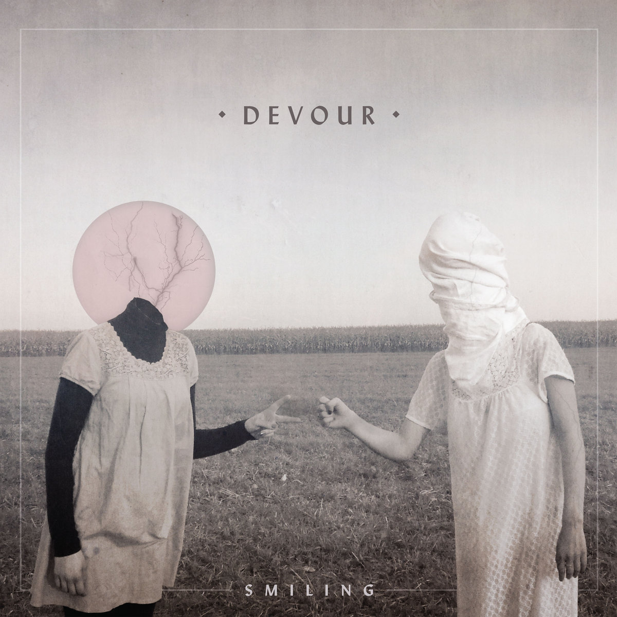 Devour-Smiling album cover